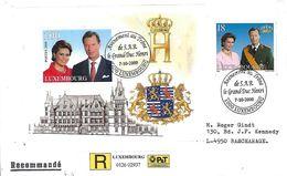 Luxembourg - Lettre Recommandé  2000 - Luxemburgo