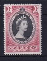 New Hebrides: 1953   Coronation    MH - English Legend