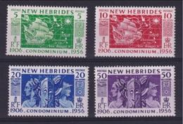 New Hebrides: 1956   50th Anniv Of Condominium   MNH - English Legend