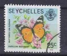 Seychelles 1980 Mi. 5    25c. Butterfly Schmetterling Papillon - Seychelles (1976-...)