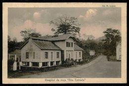"""SÃO TOMÉ E PRÍNCIPE -  HOSPITAIS -  Hospital Da Roça """" Boa Entrada"""".  ( Ed. M. Lopes) Carte Postale - São Tomé Und Príncipe"""
