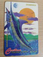 DOMINICA   GPT $ 10,-  2E SPORT FISHING TOURNAMENT  173-B   173CDMB   Fine Used  Card  ** 2838** - Dominica