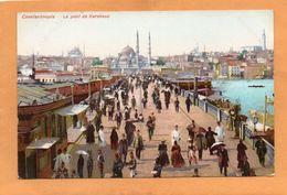 Constantinople Istanbul Turkey 1905 Postcard - Türkei