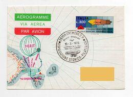 (*) Aerogramme DIRIGIBILE ITALIA - BALLON AIRSHIP Umberto Nobile North Pole Polo Nord Dirigible Aerostato MARCARIA - Vari