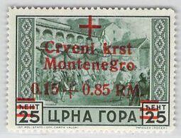 MiNr.29 Xx Besetzungsausg. 1939-45 Montenegro Deutsches Reich - Occupation 1938-45