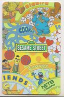 Singapore Cash Card Farecard Used Cashcard Sesame Street - Andere Sammlungen