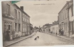 Lesmont  10   La Grande Rue  Tres Tres Animée Et Boulangerie - Autres Communes