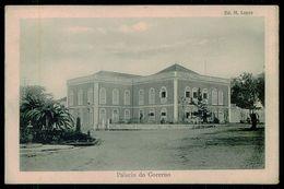 SÃO TOMÉ E PRÍNCIPE - Palacio Do Governo ( Ed. M. Lopes) Carte Postale - São Tomé Und Príncipe