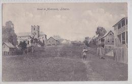 STREET IN MONROVIA LIBERIA - Liberia