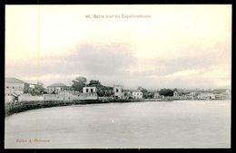 SÃO TOMÉ E PRÍNCIPE - Beira Mar No Espalmadouro. ( Ed. A. Palanque Nº 48) Carte Postale - São Tomé Und Príncipe