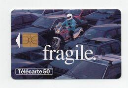 """Télécarte Sécurité Routière """"fragile"""" - Telefonkarten"""