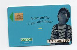 "Télécarte ""SANOFI"" - Publicidad"