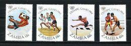 Zambia Nº 302/5 Nuevo - Zambie (1965-...)