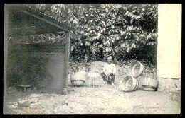 SÃO TOMÉ E PRÍNCIPE - Um Qualeiro. ( Ed. A. Palanque Nº 47) Carte Postale - São Tomé Und Príncipe