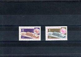 Polynésie Française Timbres Neufs** N° 80 à 81** 2 Valeurs Année 1970 - Unused Stamps