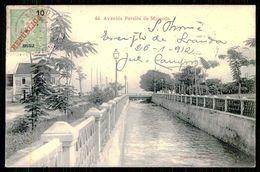 SÃO TOMÉ E PRÍNCIPE - Avenida Pereira De Miranda. ( Ed. A. Palanque Nº 44) Carte Postale - São Tomé Und Príncipe