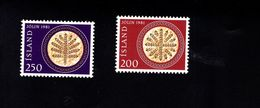 1052174464 SCOTT 550 551 POSTFRIS (XX) MINT NEVER HINGED EINWANDFREI  - CHRISTMAS - LEAF BREAD - 1944-... Repubblica