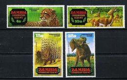 Zambia Nº 77/80 Nuevo - Zambie (1965-...)
