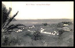 """SÃO TOMÉ E PRÍNCIPE - A """"Praia"""" Na Roça Porto Alegre. ( Ed. A. Palanque Nº 40) Carte Postale - São Tomé Und Príncipe"""