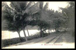 SÃO TOMÉ E PRÍNCIPE - Beira Mar Na Perseverança. ( Ed. A. Palanque Nº 38) Carte Postale - São Tomé Und Príncipe