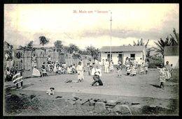 """SÃO TOMÉ E PRÍNCIPE - Mais Um """"batuco"""". ( Ed. A. Palanque Nº 35) Carte Postale - São Tomé Und Príncipe"""
