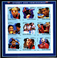 Olympics 2000 - Table Tennis - GUINEA BISSAU - Sheet Imperf. MNH - Summer 2000: Sydney