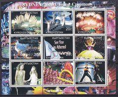 Olympics 2000 - Closing Ceremony - KYRGYZSTAN - Sheet MNH - Summer 2000: Sydney