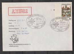 """Bundesrepublik Deutschland / 1975 / Sonderflugbrief, SSt. """"Eschbach"""" (CG24) - Covers"""
