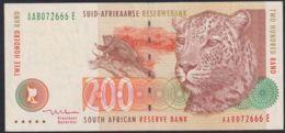 Ref. 3370-3793 - BIN SOUTH AFRICA . 2005. SOUTH AFRICA 200 RAND 2005 - Altri – Africa