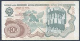 Ref. 3743-4180 - BIN YUGOSLAVIA . 1990. YUGOSLAVIA 200 DINARA 1990 - Jugoslawien