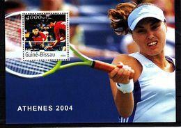 Olympics 2004 - Tennis - GUINEA BISSAU - S/S MNH** - Summer 2004: Athens