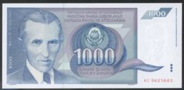 Ref. 3751-4188 - BIN YUGOSLAVIA . 1991. YUGOSLAVIA 1000 DINARA 1991 - Jugoslawien
