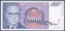 Ref. 3752-4189 - BIN YUGOSLAVIA . 1991. YUGOSLAVIA 5000 DINARA 1991 - Jugoslawien