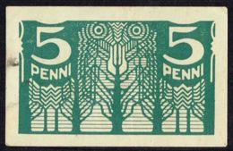 Ref. 4275-4778 - BIN ESTONIA . 1919. ESTONIA 5 PENNI 1919 - Estonia