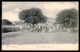 SÃO TOMÉ E PRÍNCIPE - FEIRAS E MERCADOS - Um Aspecto Da Feira. ( Ed. A. Palanque Nº 30) Carte Postale - São Tomé Und Príncipe