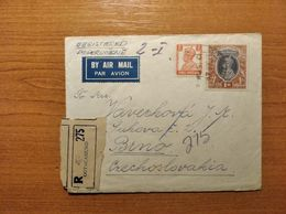 EX-PR-20-07-106 AVIA R- LETTER FROM OOTACAMUND, INDIA TO BRNO, CZECHOSLOVAKIA. - 1936-47 King George VI