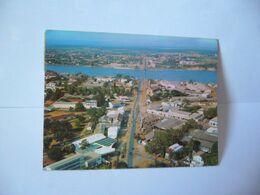 AFRICA AFRIQUE 992 . DAHOMEY VUE AÉRIENNE DE COTONOU AVEC SON PONT S/ LA LAGUNE CPM 1971 EDITIONS D'ART NORMAND - Dahomey