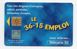 "Télécarte "" Le 36-15 Emploi"" - Telefonkarten"