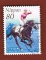 GIAPPONE (JAPAN) - SG 3244  -    2004  JAPAN RACING ASSOCIATION: HORSES   (COMPLET SET OF 2)    - USED° - Gebraucht