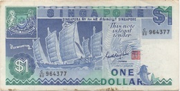 Singapour Singapore : 1 Dollar 1987 Bon état - Singapur
