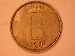 250 Frs Baudouin Fr - 10. 250 Francs
