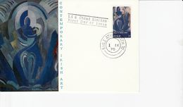 IRELAND 1970 IRISH ART  FDC - 1949-... Republic Of Ireland