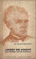 JOZEF DE VOCHT EEN DICHTER UIT DE KEMPEN - Dr. Aug. KEERSMAEKERS - KVHU Verhandeling Nr488 KATHOLIEKE VLAAMSE HOGESCHOOL - Poesia
