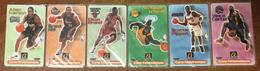 5 CARTES NBA ALLEN IVERSON + GRANT HILL + ELTON BRAND VINCE CARTER SHAQUILLE O'NEAL A TELECOM PREPAYÉE PHONECARD - Sport