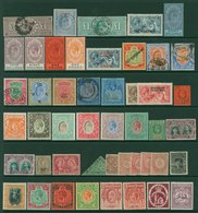 IMPERIAL ALBUM (2nd Edn) Containing A Substantial BRITISH EMPIRE M & U Collection Covering The Period 1840-1928. Absolut - Timbres