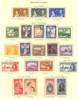 KGVI MINT COLLECTION Housed In The Printed Album (3458 Stamps) Full, Short & Part Sets, Good Range 1948 Weddings Etc. Cl - Non Classés