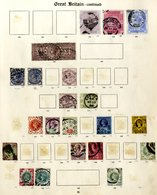 BRITISH EMPIRE Collection Housed In Two New Imperial Albums 1840-1936 M & U Ranges (remaindered In Places), Noted - Odd  - Non Classés