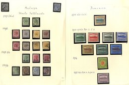 BRITISH COMMONWEALTH M & U Collection Housed In Three Spring Back Albums, Ranges Incl. Barbados, British Africa, Ceylon, - Non Classés
