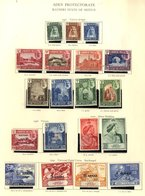 KGVI REMAINDERS M & U Collection Housed In The Red Printed Album. (many 100's) - Non Classés