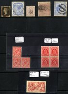MISCELLANEOUS ACCUMULATION In Carton Incl. GB Postal History, Various In Packets Incl. 1d Reds, GB, British Commonwealth - Timbres